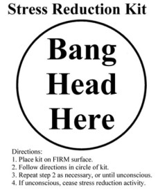 stress reduction kit