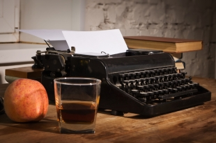 whiskey-typewriter-shutterstock