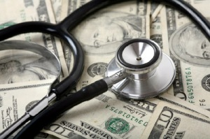 stethoscope-on-money