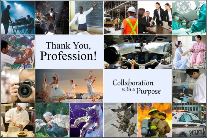 Thank a Profession