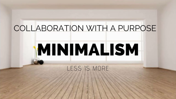 Minimalism To Success: Why Little Wins Count