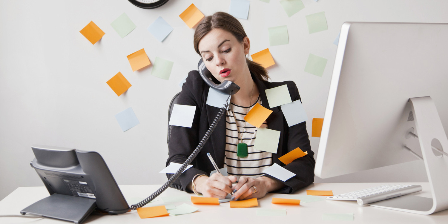 Why Being Chronically Busy Doesn't = Productivity